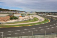 Tribune ORANGE <br />Circuit Cheste<br />MotoGP Valence